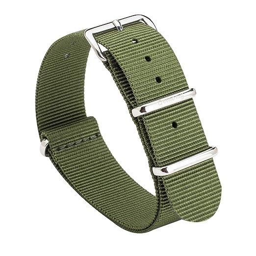 51 opinioni per Gemony Nato Strap Premium Ballistic Nylon Watch Band, Larghezza di banda