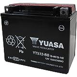 YUASA YTX12-BS 【バイク用バッテリー FTX12-BS/GTX12-BS/KTX12-BS互換】