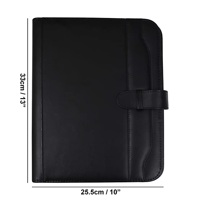 Kurelle Carpeta Portadocumentos A4 Cuaderno portafolios, Presentación personalizada, Conferencia, Ejecutivos, Negocios. Organizador de Documentos de ...