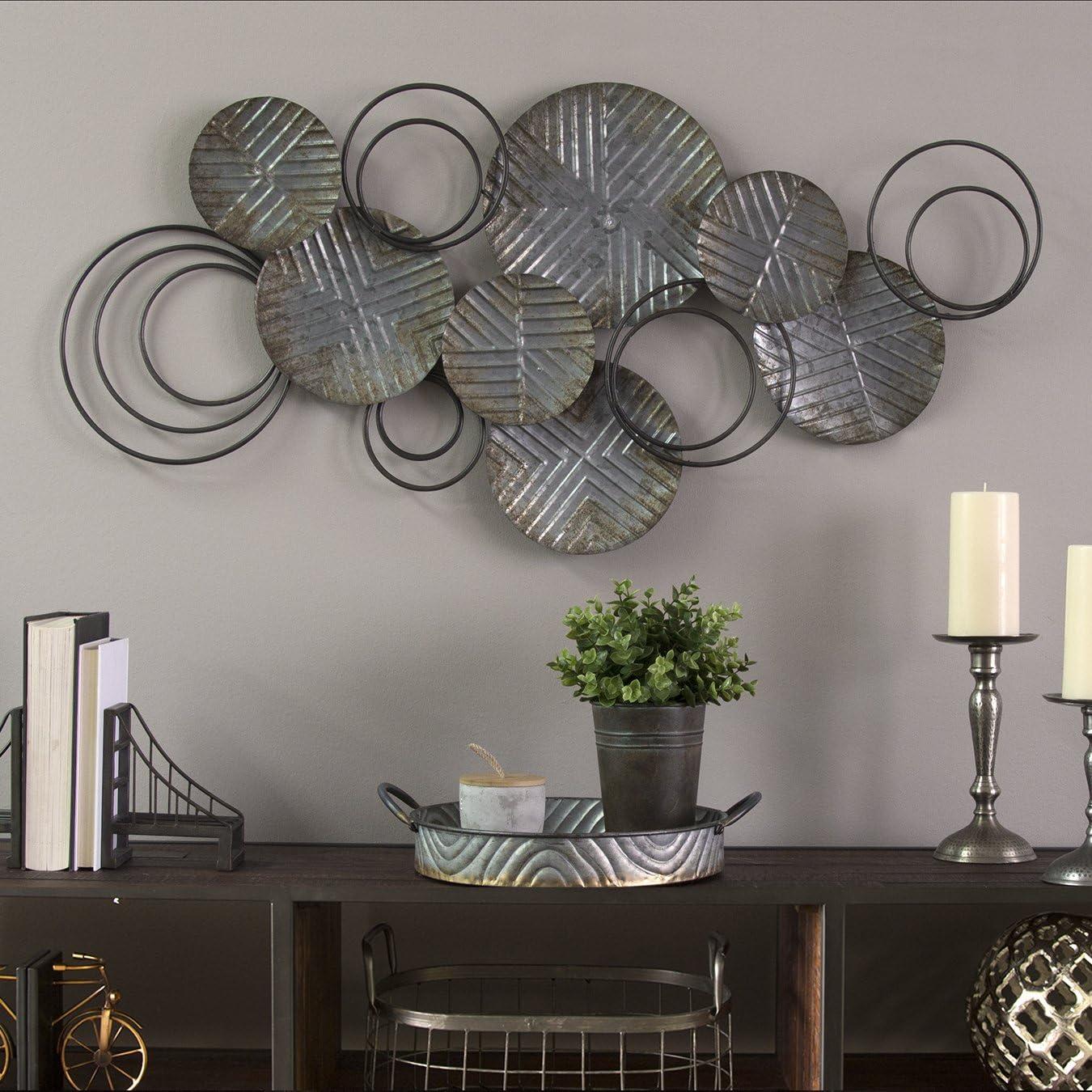 Home Decor Stratton Home Decor Galvanized Plates Wall Decor Pewter Home Hyundai Lighting Com Mk