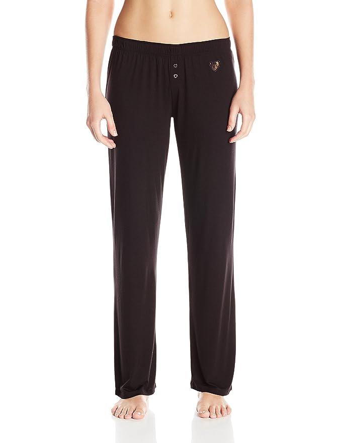 Betsey Johnson rayón de la mujer Knit Juego de pijama - negro - : Amazon.es: Ropa y accesorios