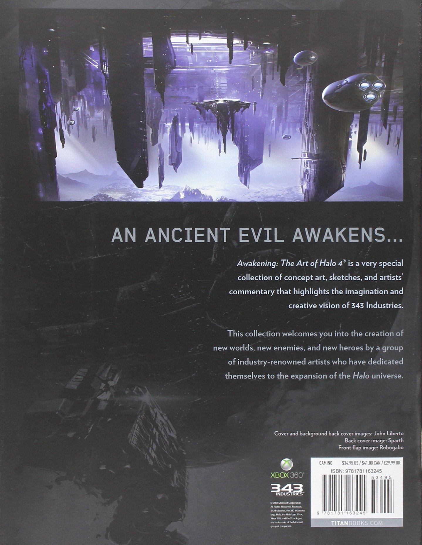 Awakening: The Art of Halo 4 by Brand: Titan Books