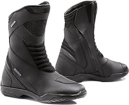 Negro 38 FORMA Botas de Moto Nero WP con Homologaci/ón de Tipo CE