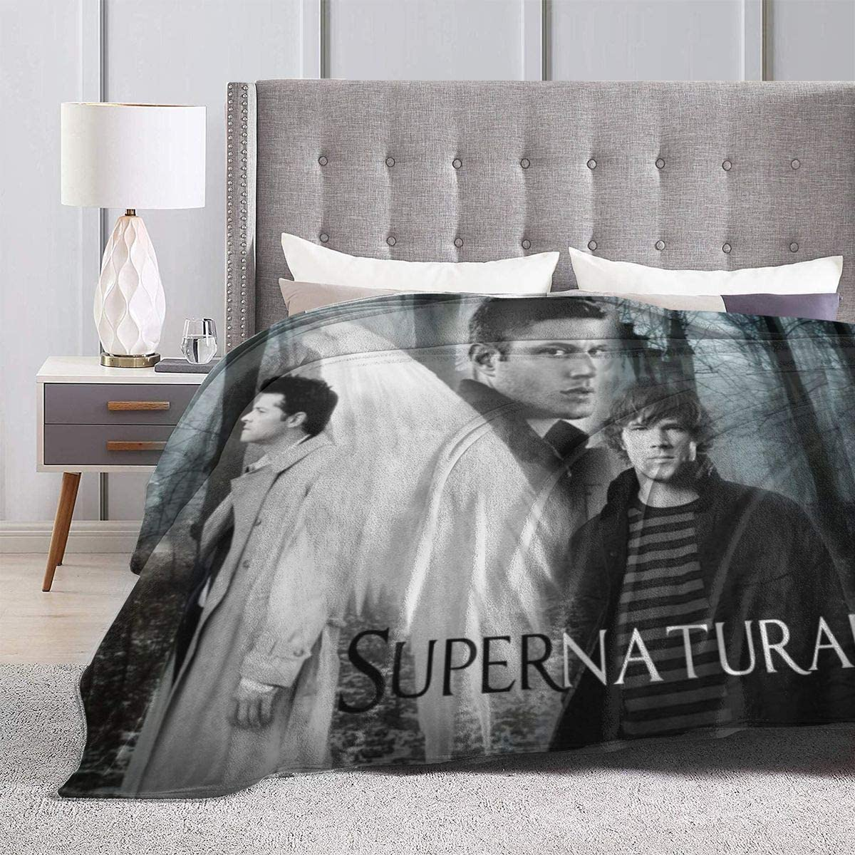 Supernatural Blanket Warm Plush Cozy Soft Blankets
