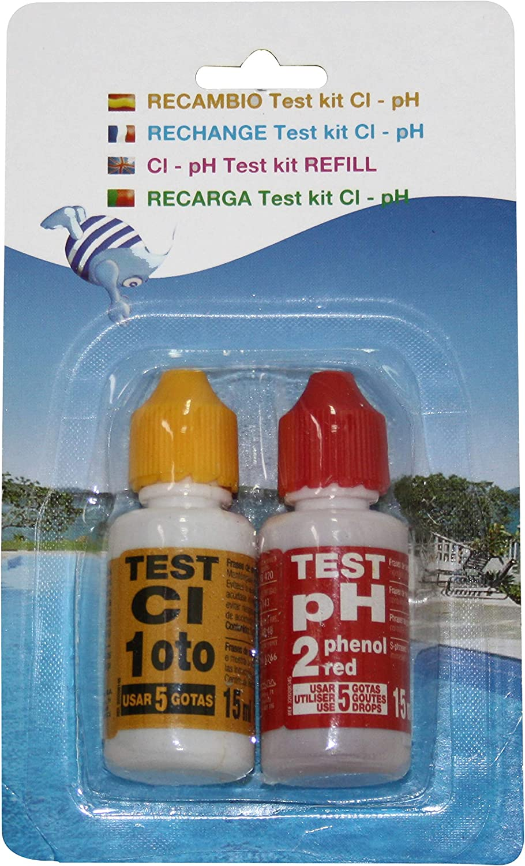 PQS Recambio Test Kit pH/Cloro