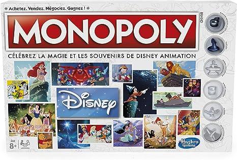 Hasbro Monopoly Disney Niños Simulación económica - Juego de ...