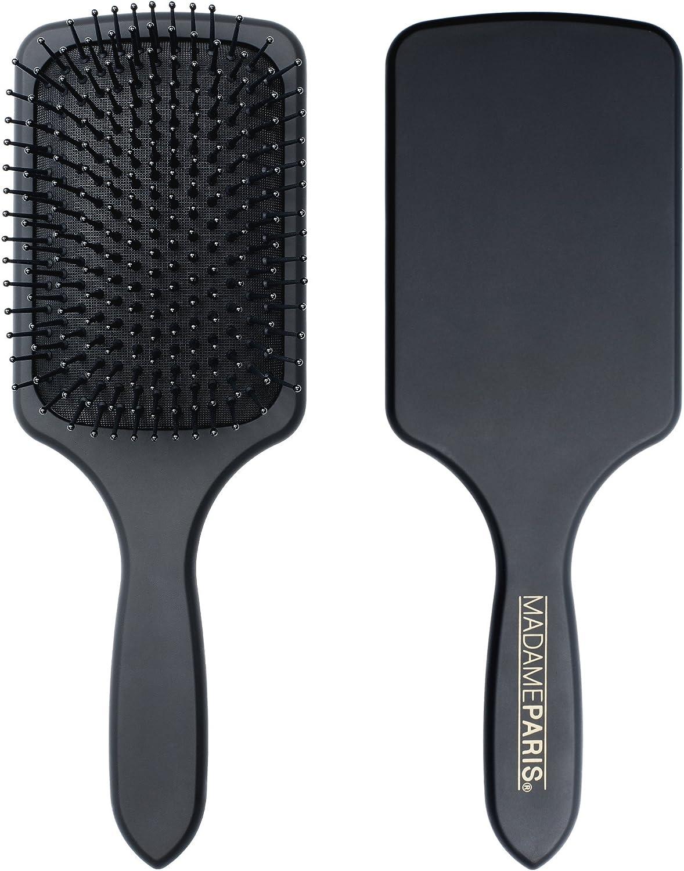 Madameparis - Cepillo plano para el pelo de peluquería profesional – Cepillo Brushing – Paddle