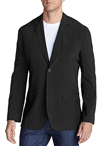 Eddie Bauer Herren Depature Tropical-Weight Blazer