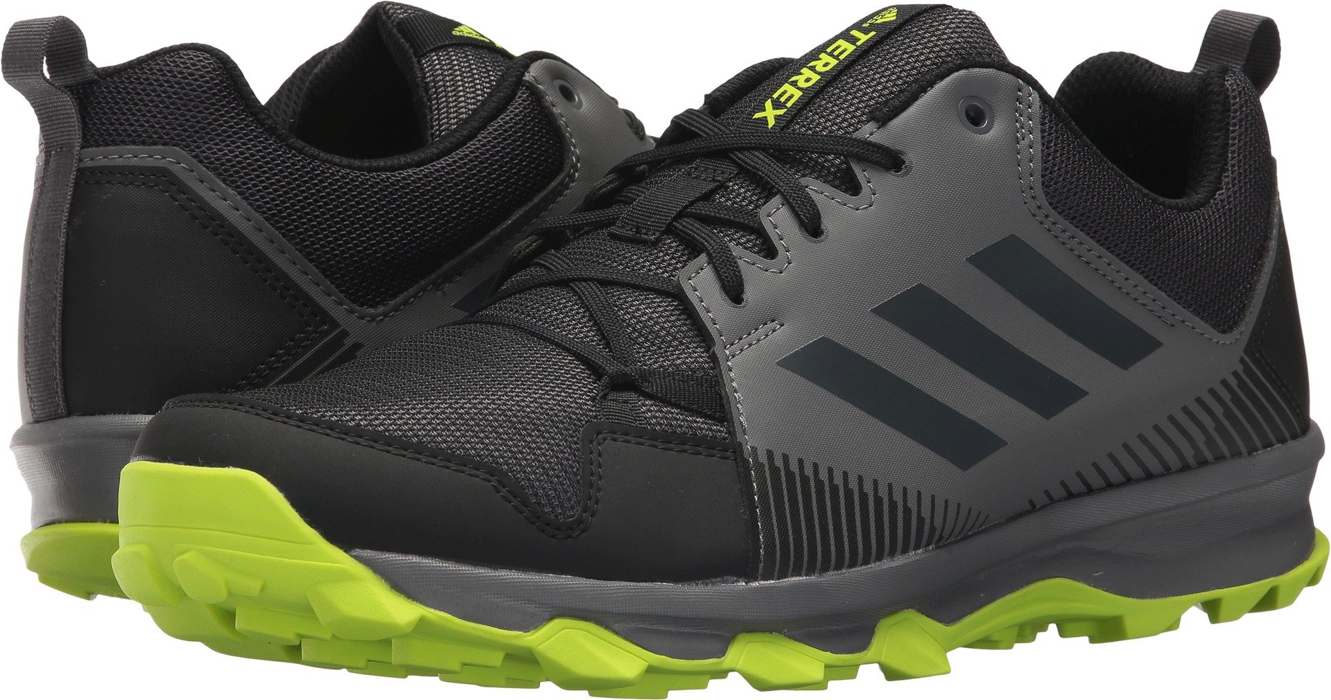 adidas outdoor Men's Terrex Tracerocker Trail Running Shoe, Black/Carbon/Grey Four, 7 D US by adidas outdoor