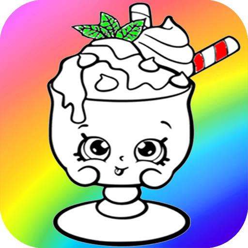 Surprise Drinks kawaii coloring pages