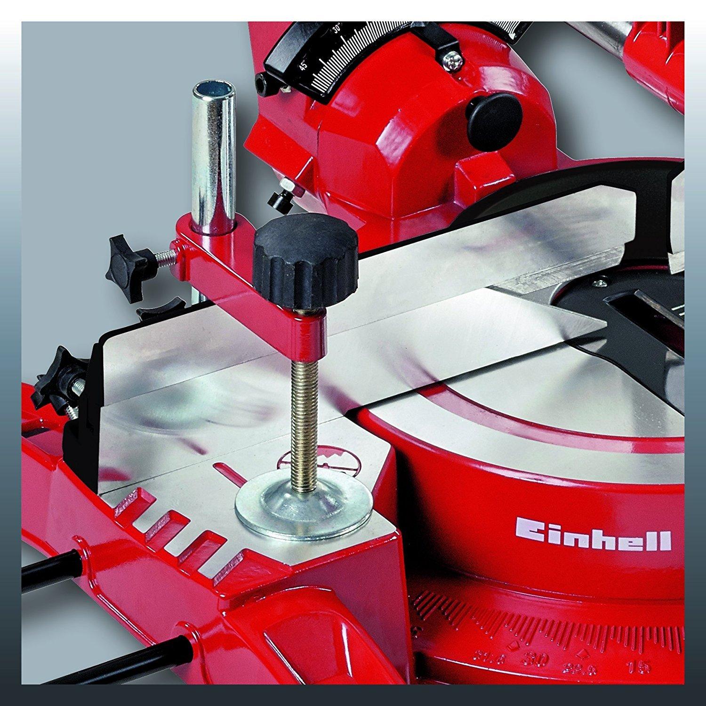 TC-SM 2534 DUAL Troncatrice//Sega circolare radiale per legno 2350W 250mm con laser Einhell cod.:4088