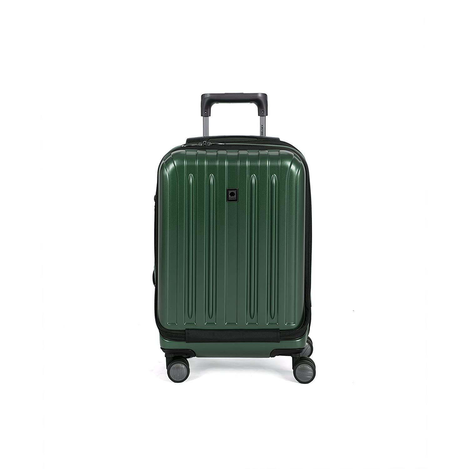 Delsey Helium Titanium 19 International Carry-On Expandable Spinner Luggage, Silver Delsey Luggage Inc. 00207180111