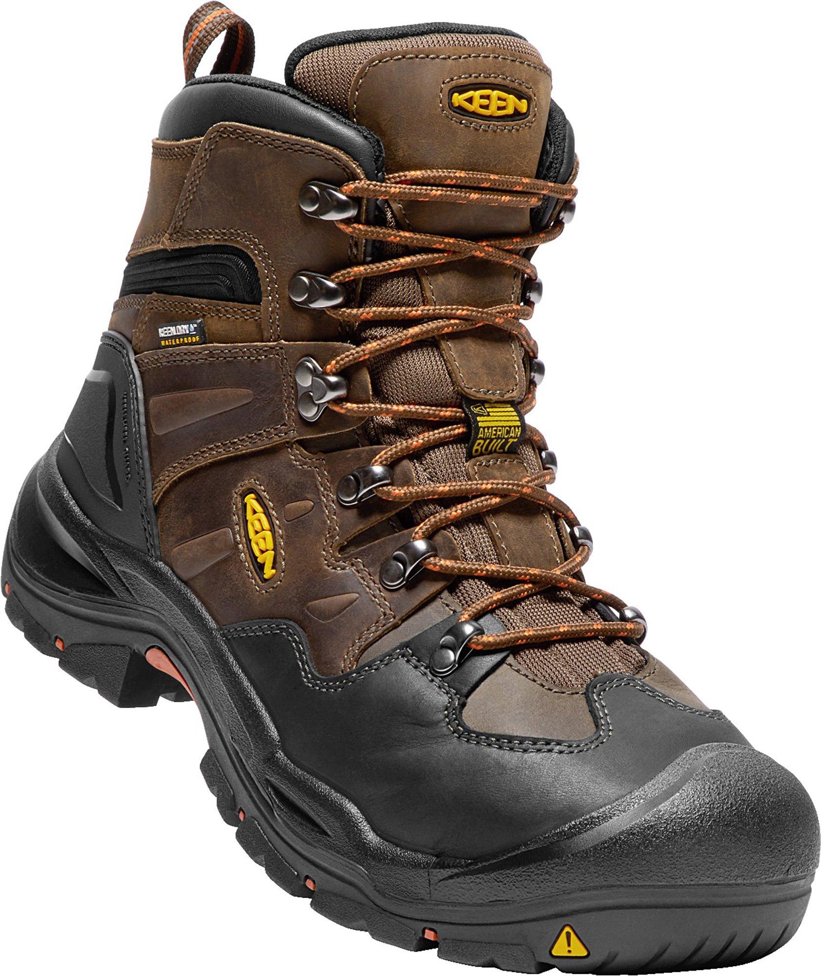 KEEN Utility Coburg 6'' WP (Steel Toe), Men's Work Boot, Cascade Brown/Brindle, 8 EE by KEEN Utility (Image #7)