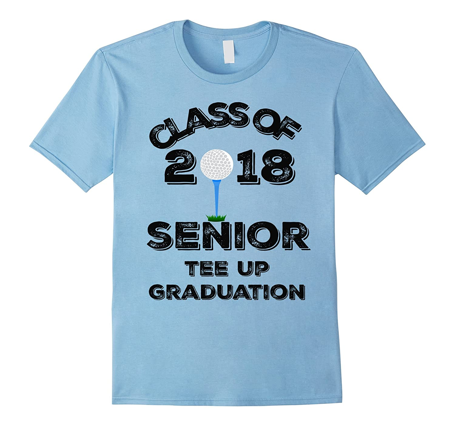 CLASS OF 2018 SENIOR TEE UP GRADUATION GOLF SHIRT-Vaci