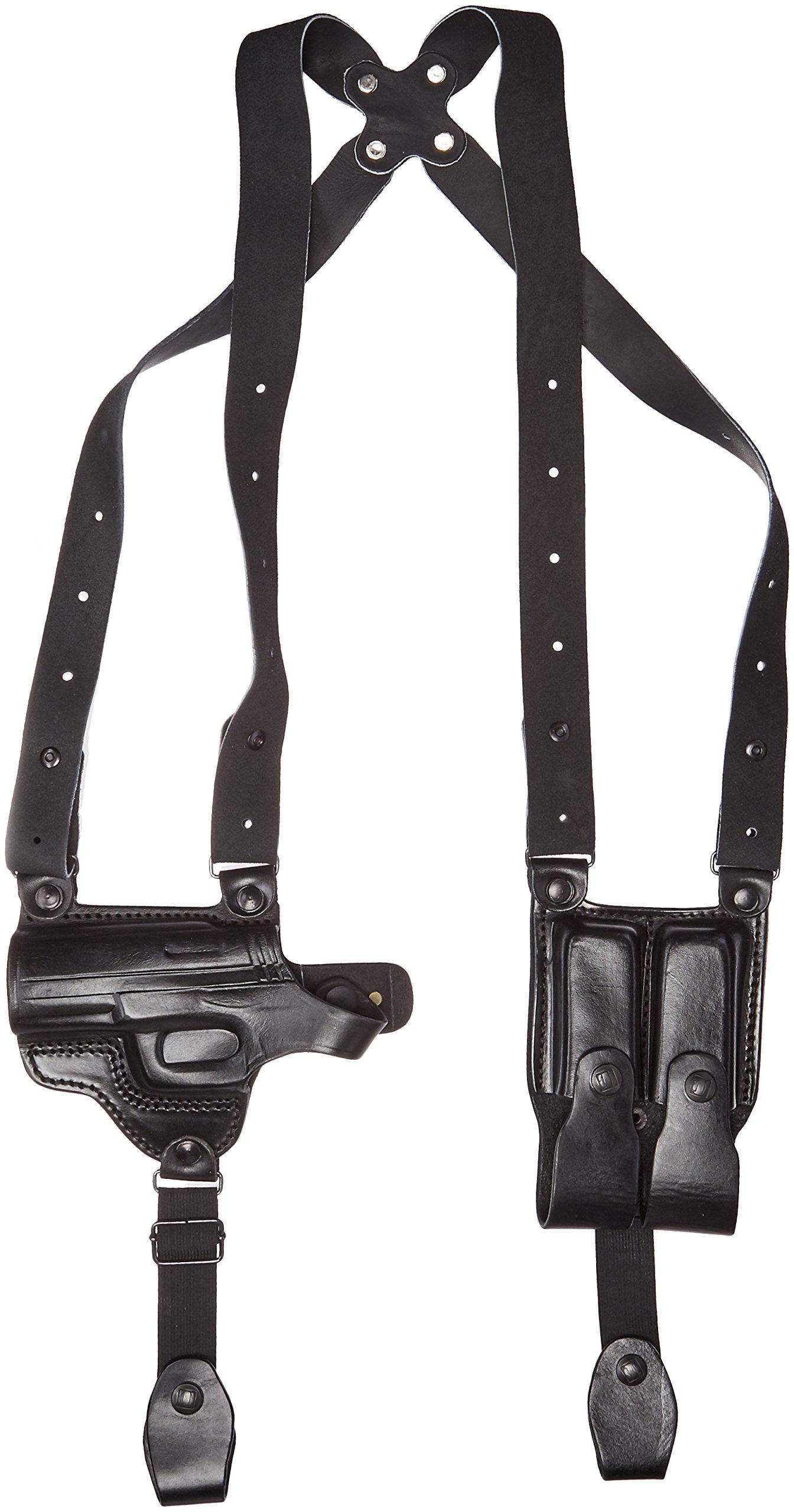 Tagua SH4-1106 Full Slide Shoulder Holster, Walther P99, Black, Left Hand by Tagua (Image #1)