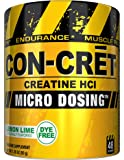 CON_CRET Creatine HCL, Lemon Lime, 48 Servings