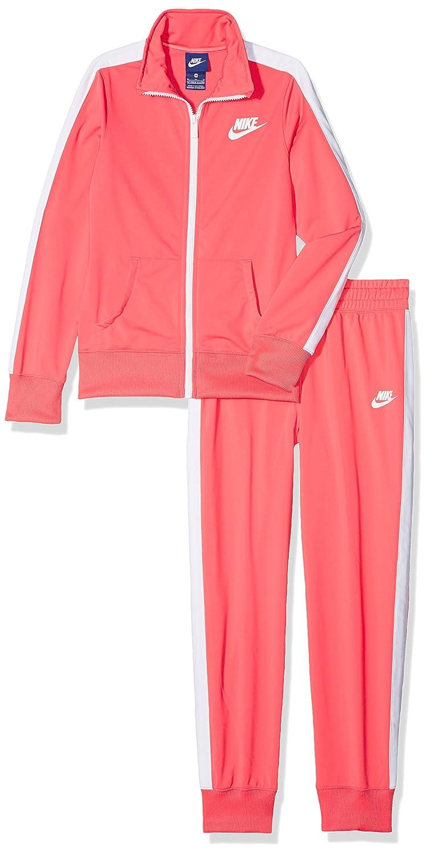 Nike G NSW TRK Suit Tricot Chándal, Niñas: Amazon.es: Deportes y ...