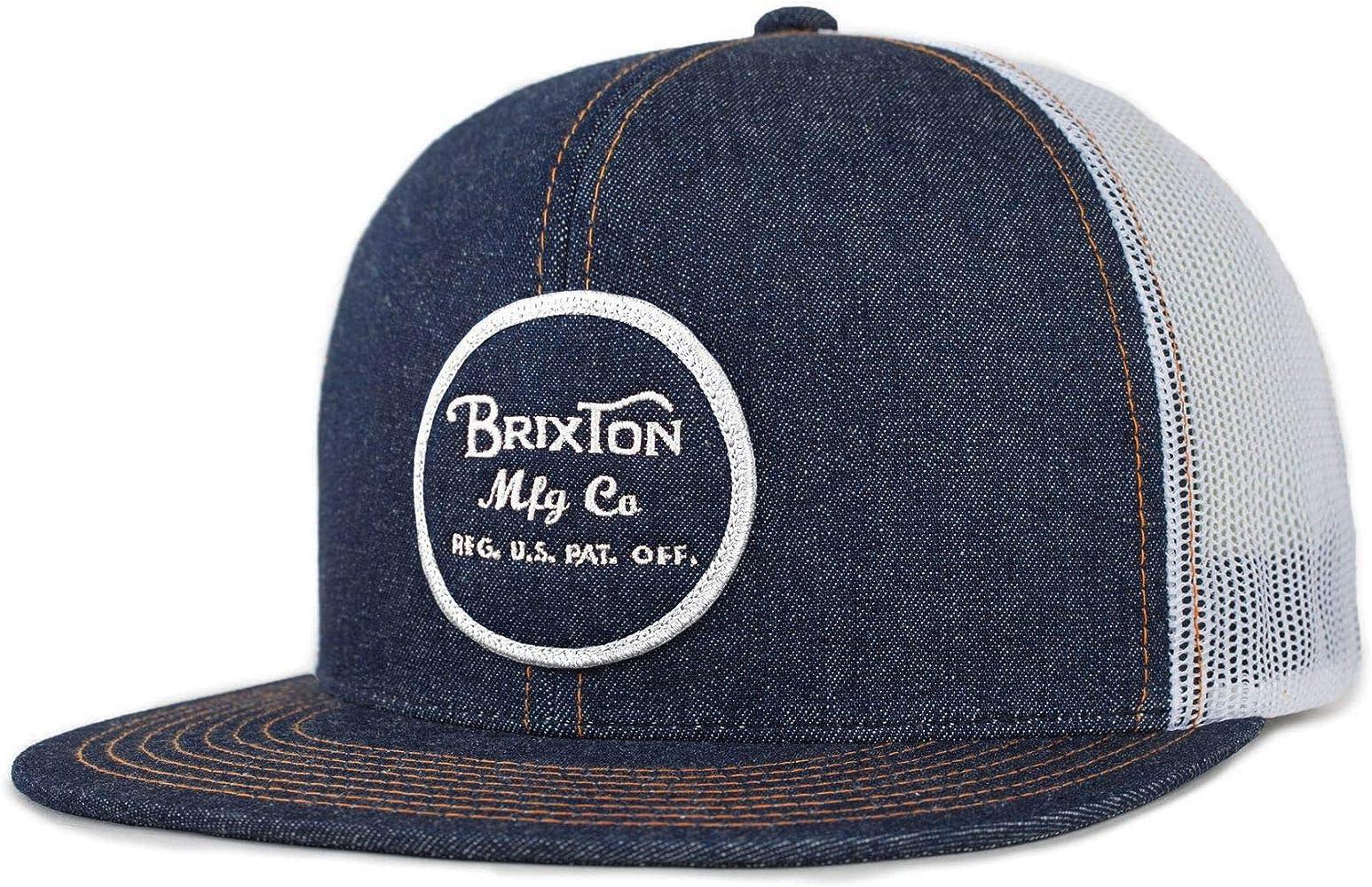 BRIXTON - Gorra de béisbol Unisex, Unisex Adulto, Mezclilla Azul ...