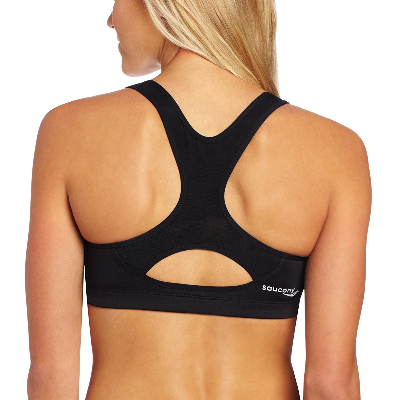 Saucony Athlete Avenger - Sujetador para Mujer: Amazon.es ...