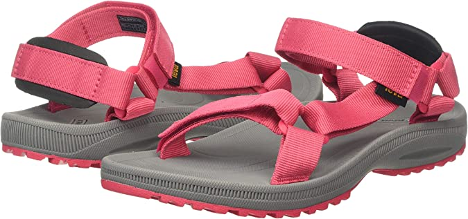 Sandales Bout Ouvert Femme Teva Winsted Solid