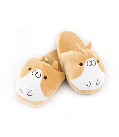 aa7f0d0c62c8 Image Unavailable. Image not available for. Color  Nayothecorgi Soft Corgi  Slipper - One Size