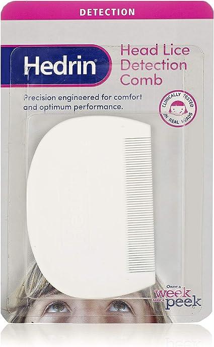 Hedrin Head - Peine para detección de piojos: Amazon.es: Belleza