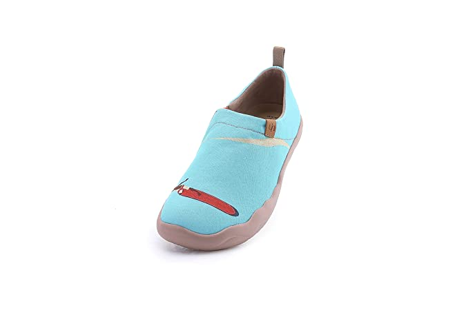 UIN Women's Hawaii Surfing Canvas Travel Slip On Shoe Blue: Amazon.ca: Shoes  & Handbags