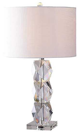 Jonathan y jyl5012a sofia 26 crystal table lamp clear