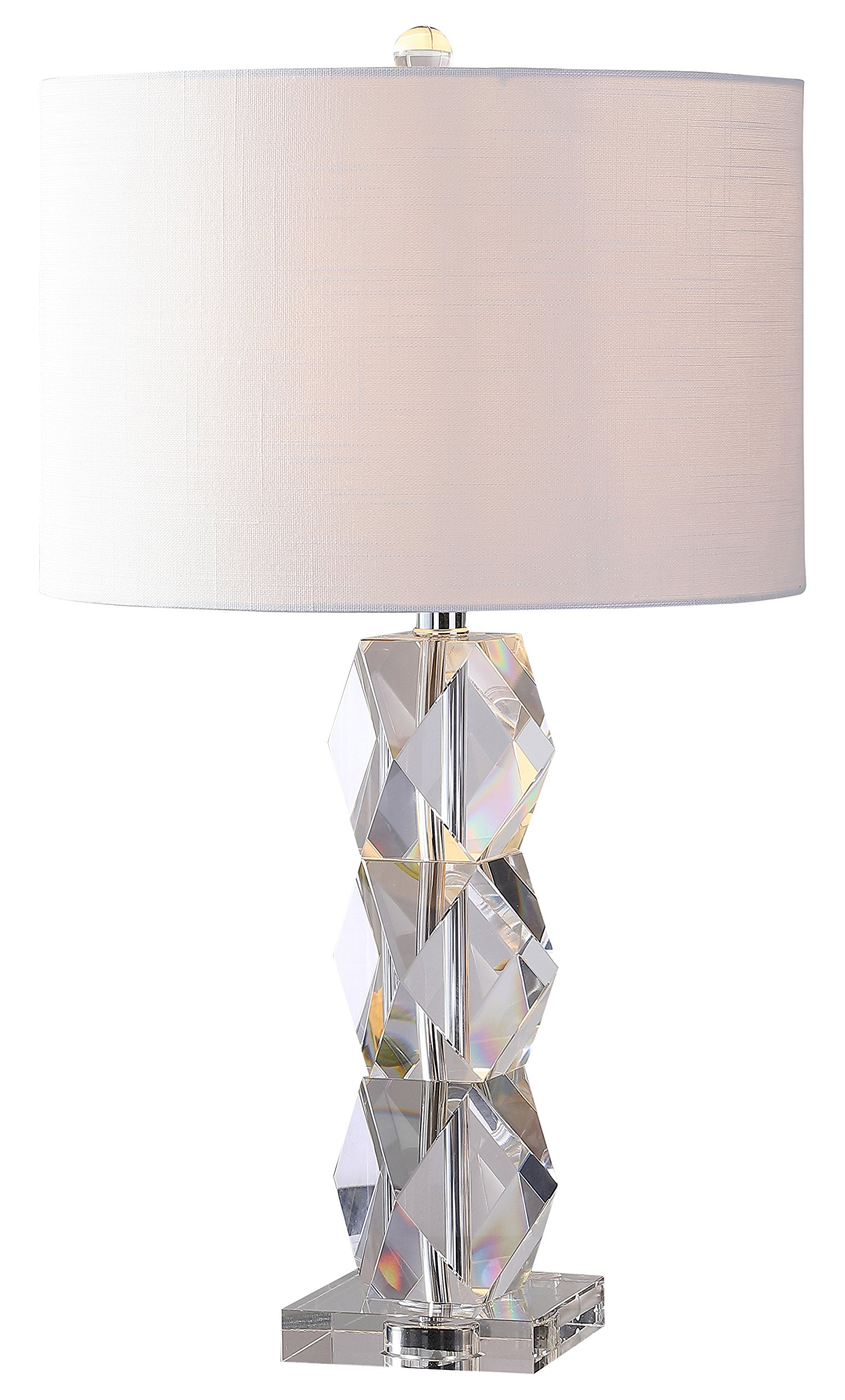 JONATHAN Y JYL5012A Sofia 26'' Crystal Table Lamp, Clear