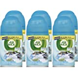 Air Wick Freshmatic Ultra Refills, Fresh Water, Air Freshener, 6.17 Ounces (Case of 6)
