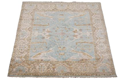 a3c68da3b9d Manhattan Oriental Rugs Square 8X8 Turkish Oushak Vegetable Dyed    Hand-Knotted Wool Area Rug