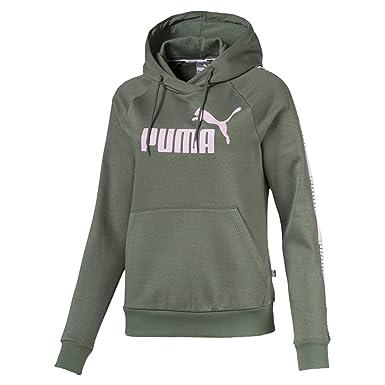 Puma Sweat à Capuche Tape Fleece pour Femme Laurel Wreath XS