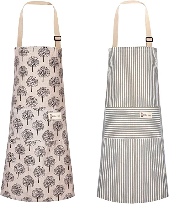 Your Choice-Handmade by LIL Full Woman All Cotton Aprons With Pockets