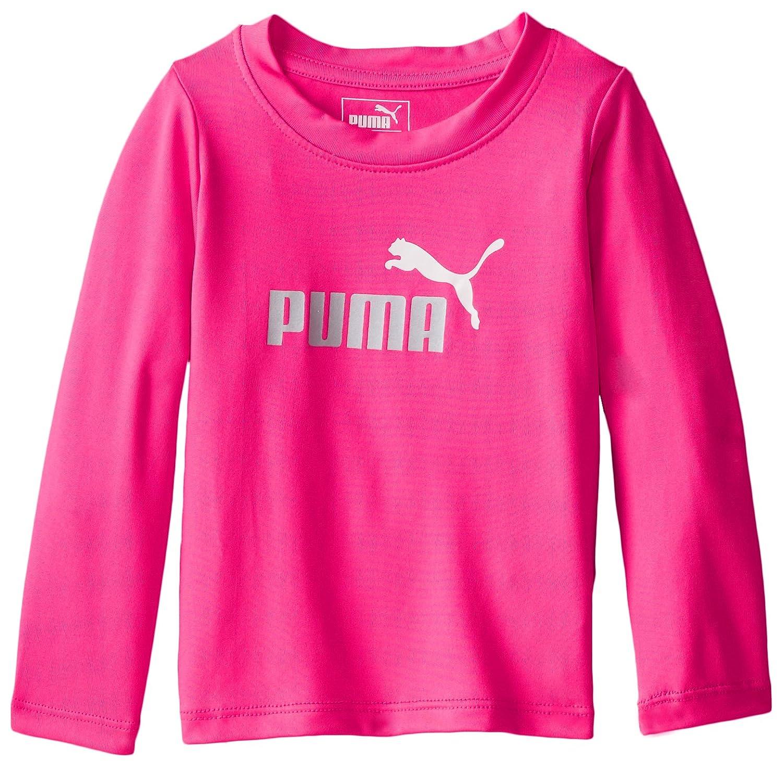 PUMA Baby Girls Long Sleeve Tee