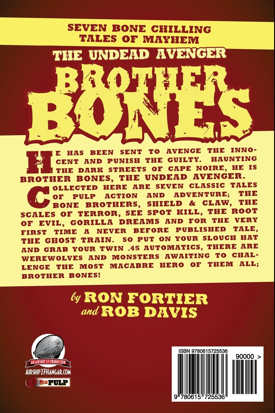 Brother Bones The Undead Avenger: Amazon.es: Fortier, Ron ...
