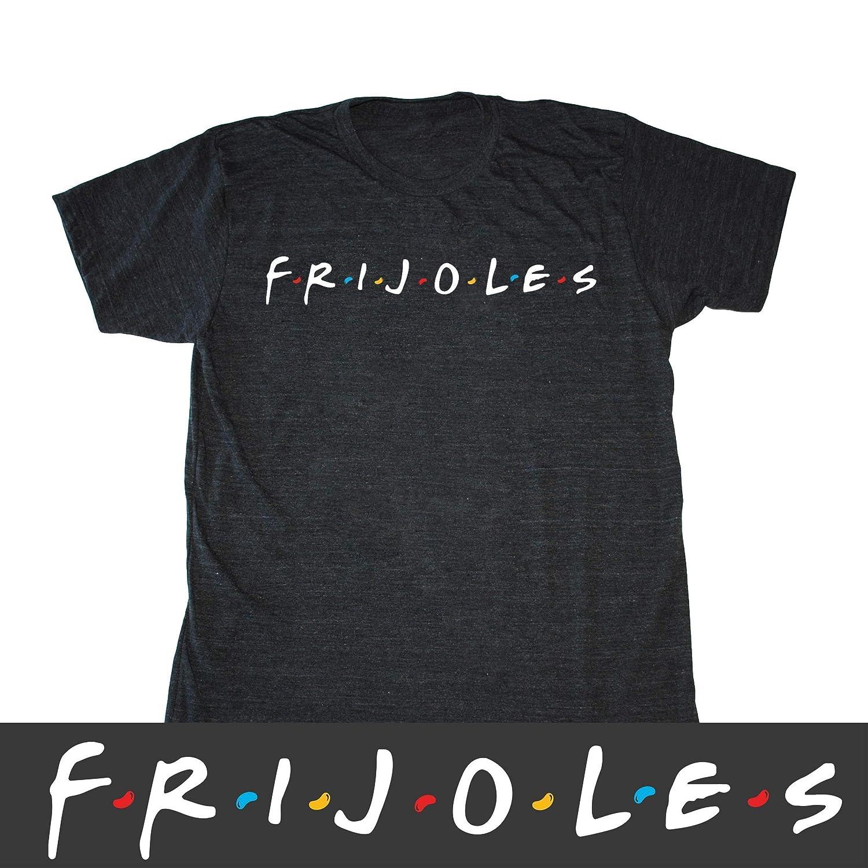 7605f9869 Amazon.com: Men's Frijoles Friends Shirt - Funny Mexican Food T-shirt:  Handmade