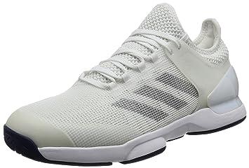 quality design f0cc2 2b7a3 adidas Adizero Uber Sonic 2 zapatillas de tenis para hombre, blancogris