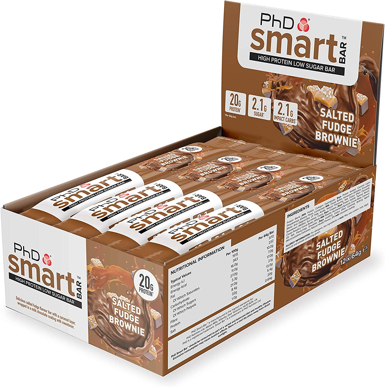 PhD Smart Bar (12x64g) 12 Unidades 770 g