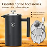 SparkPod French Press Coffee & Tea Maker Complete