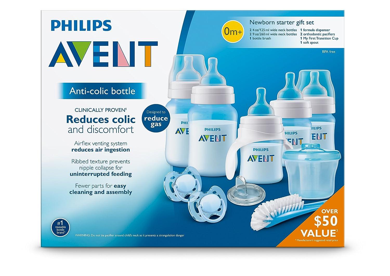 Philips AVENT SCD393/03 - Biberón (Azul): Amazon.es: Bebé