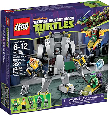 LEGO Teenage Ninja Mutant Turtles Baxter Robot Rampage 79105