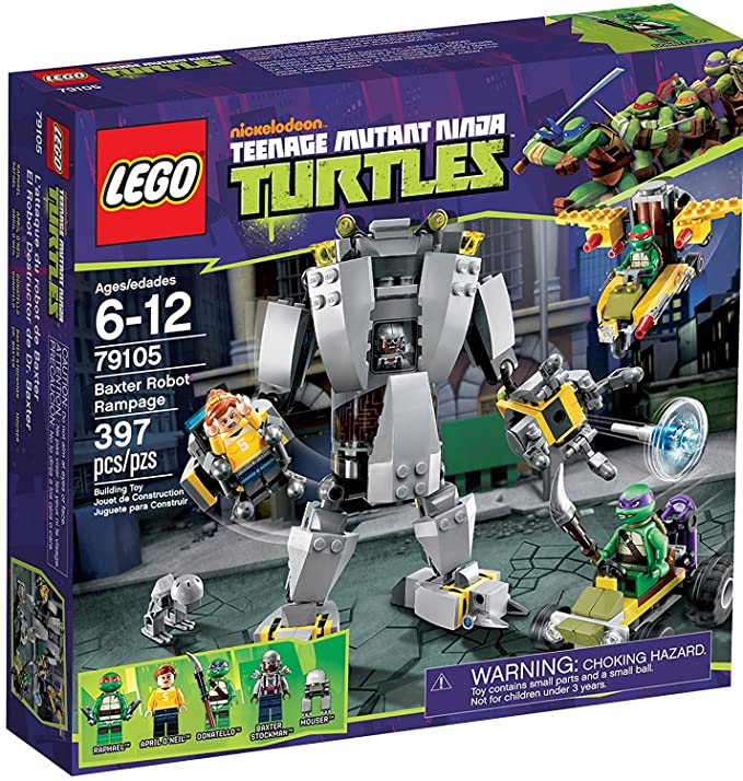Lego Teenage Ninja Mutant Turtles Set #79105 Baxter Robot ...