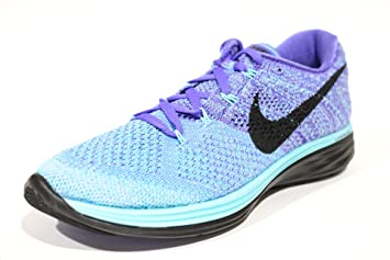 3f6d4516f76a Image Unavailable. Image not available for. Color  Nike Women s Flyknit  Lunar 3 Aqua Green Blue Running Shoes ...