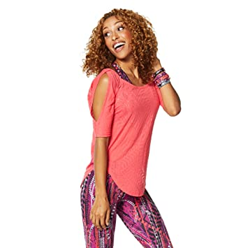 Zumba Fitness® Z1T01046 - Camisetas, Color Rosa, Talla M: Amazon.es: Zapatos y complementos