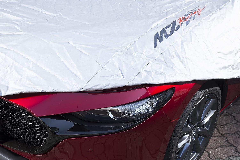 MZRacing、BP系Mazda3用防炎タイプのカーカバーを発売中