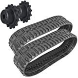 Titan Pair of Rubber Tracks and Final Drive