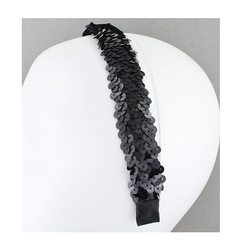 Amazon.com   Black sequin headband 1
