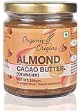 Organic Origins, Organic Cacao Almond Butter (Crunchy), 200 grams