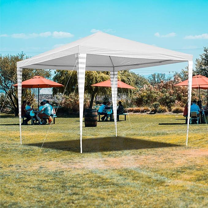 Hengda - Cenador de jardín (3 x 3 m) - Toldo para Fiestas de ...