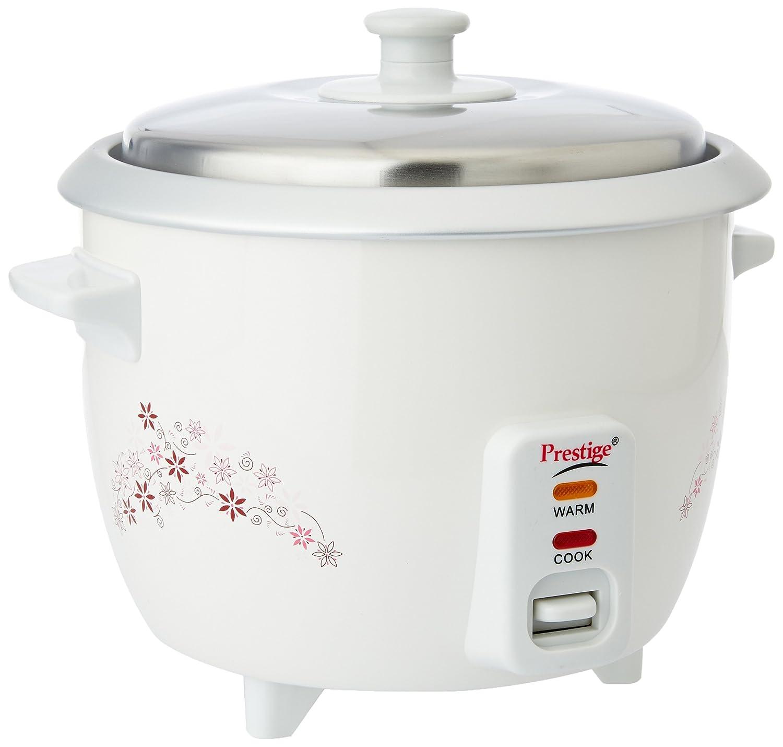 Prestige Delight PRWO 1.0 1-Litre Electric Rice Cooker (White)